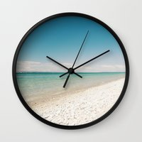 Seaside Manitou Island Wall Clock