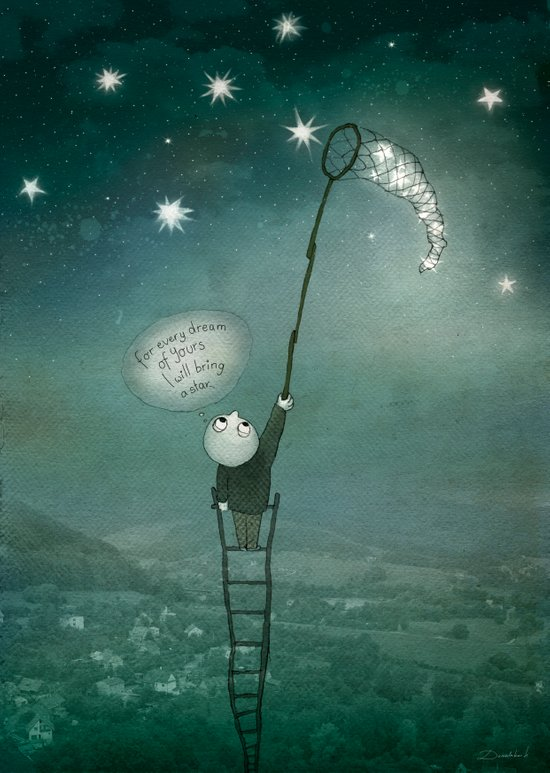 For every dream of Yours! Art Print