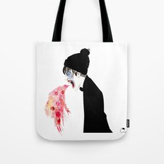 Jealousy Snaking Up Again Tote Bag