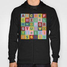 Alphabet Hoody