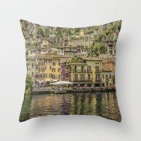 Beautiful Italy Throw Pillow