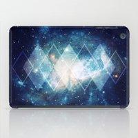 Shining Nebula - Blue iPad Case