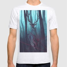 Blue Forest Mens Fitted Tee Ash Grey SMALL