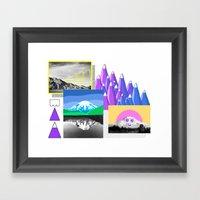 Mountain Study Framed Art Print