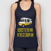 Respect To The Man In Th… Unisex Tank Top
