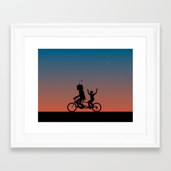 Before They Were Our Enemies, They Were Our Best Friends Framed Art Print