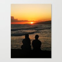 Canvas Print featuring Sun Kissed by atwice