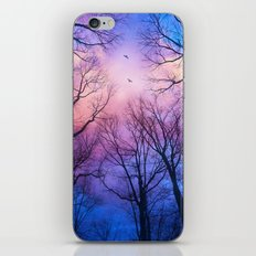 A New Day Will Dawn  (Day Tree Silhouettes) iPhone & iPod Skin