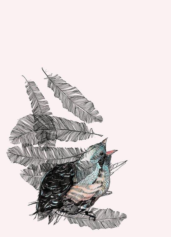 Birdster Art Print