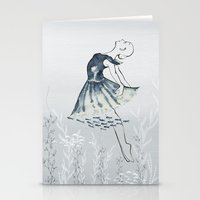 nightswimming Stationery Cards