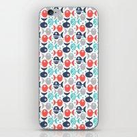 School Of Fish iPhone & iPod Skin