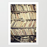 Art Print featuring Books by PureVintageLove
