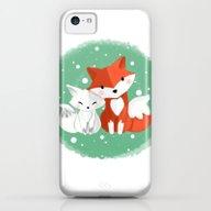 Foxy Friends iPhone 5c Slim Case