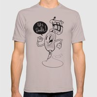 Let's Doodle! Mens Fitted Tee Cinder SMALL