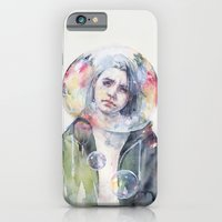 iPhone Cases featuring goodmorning world by agnes-cecile