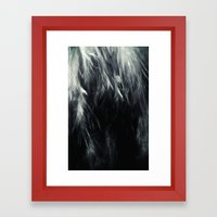 Sterling Feathers Framed Art Print