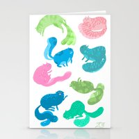 United Cats of Colour Stationery Cards