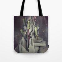 Fog Collar Tote Bag