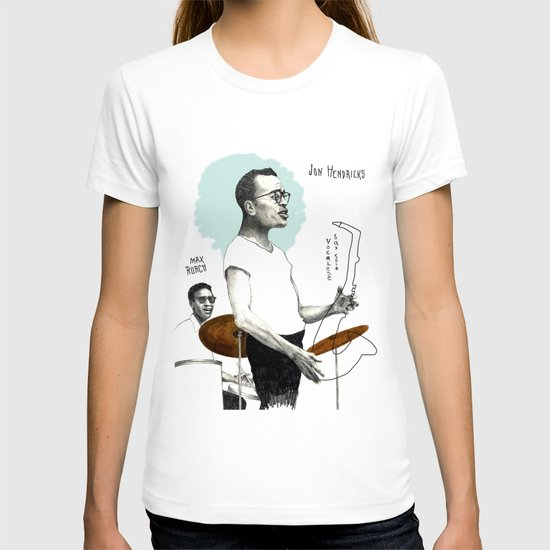 ANALOG zine - Vocalese Sax Solo T-shirt