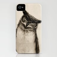 Owl Sketch iPhone (4, 4s) Slim Case