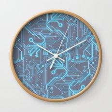 1982 Blue Wall Clock