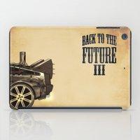 Back to the future III iPad Case