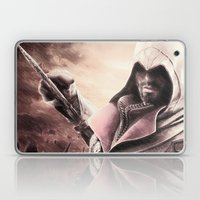 Ezio Auditore from Assassin's Creed - Color Sketch Work Laptop & iPad Skin