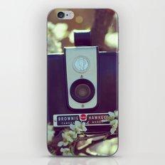 Flowering Brownie iPhone & iPod Skin