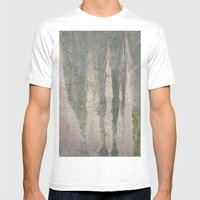 Acid Mens Fitted Tee White SMALL