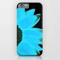 Portrait Of Summer - Blu… iPhone 6 Slim Case