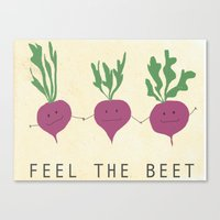 Beets Canvas Print