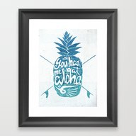 You Had Me At Aloha! Framed Art Print