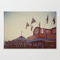 August Nights Canvas Print