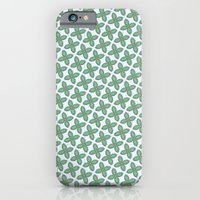 iPhone & iPod Case featuring Mint Leaf Pattern by Peter Gross