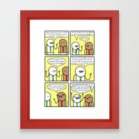 Antics #349 - Brought To… Framed Art Print