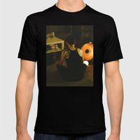 The Girl with the Dragon Tattoo: Lisbeth Salander Mens Fitted Tee Black SMALL
