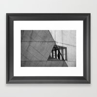 Urban Cell Framed Art Print