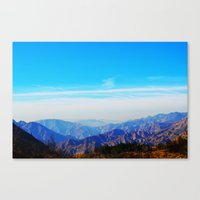 Angeles Haze Canvas Print