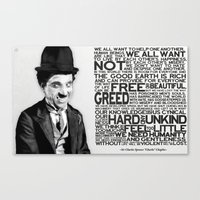 The Mute Dictator Canvas Print