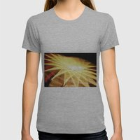 Filament Star Womens Fitted Tee Athletic Grey SMALL