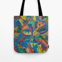 Crazy Dreams of Colour  Tote Bag