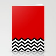Black Lodge Dreams (Twin… Stationery Cards