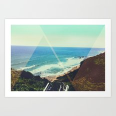 Oceans View Art Print