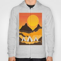 Teepees Mountains Hoody