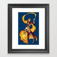 Royal Mage Framed Art Print