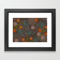 jungle delights chocolate Framed Art Print