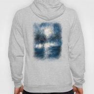 Paisaje Y Color (azul) Hoody
