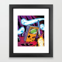 The Legend of Gameboy Framed Art Print