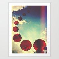Travel the Skies Art Print