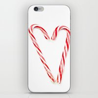 Candy Cane Love iPhone & iPod Skin